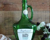 Empty Green Wine Bottle For Crafts, Inglenook Navalle Chablis, Large Cork Bottle, Bottle With Label, Old Collectible Bottle, 1.5 Liters