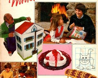 Winter Fun Guide Doll House Shiny Pillows Clown Chest Rainbow Headboard Crochet Rag Rug Friendship Quilt Recipes Avon Craft Pattern Book