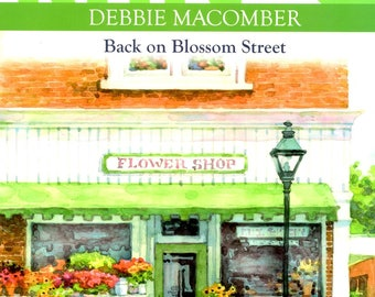 Knitting Along with Debbie Macomber Back on Blossom Street Prayer Shawl Baby Hooded Cardigan Lap Robe Hat Scarf Mittens Craft Pattern Book