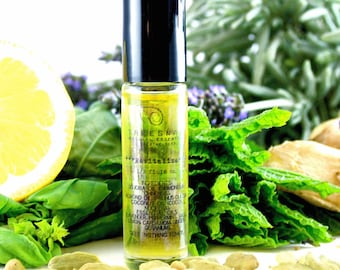 Revitalize Aromatherapy Oil | Gifts Under 15 | Bachelorette | Holistic  | Roll On Oil | Treesnail | Essential Oils | Gift for Her