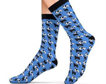 Newfoundland Dog Sublimation Socks