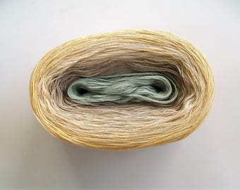 PRAIRIEDOG II -- 150 gr/720 yards -- Color Changing Cotton yarn -  Fingering Weight