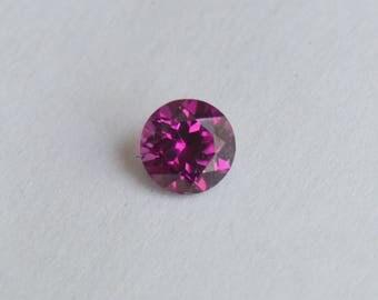 Purple Garnet, Round Garnet, Mozambique Garnet, 6mm Round Garnet Gemstone