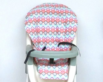Evenflo high chair cushion highchair cover replacement pad baby accessory baby feeding furniture child care chair protector fun geometric