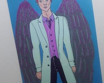 Icarus Original Art Mini Print