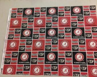 Alabama Crimson Tide fabric 248305