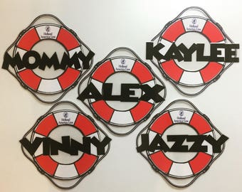 Holland America Cruise Line Custom Buoy Door Magnets