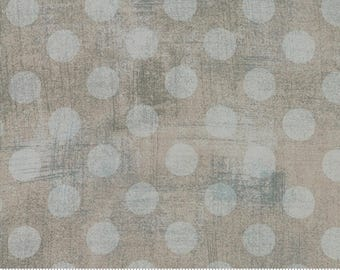 Moda - Grunge Hits the Spot - Gris/Grey - Fabric by the Yard 30149-65