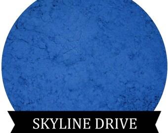 SKYLINE DRIVE Matte Blue Eyeshadow