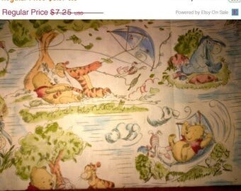 Winnie the POOH  Quilting Fabric--So Cute--FABRIC SALE