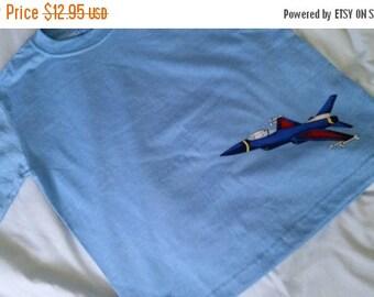 Boys Jet T Shirt -- sz 4-6T -- 20-70% off SALE