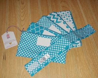 RTS - Cash Budgeting System - Budgeting Envelopes - Fabric Budgeting Envelopes - Zippered Envelopes - Money Envelopes - Ready to Ship