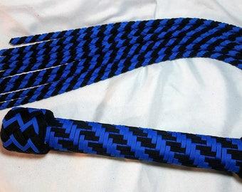 Blue and Black Cat'o'Nine