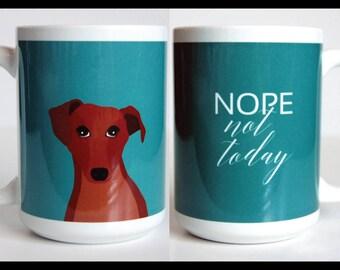 Dachsund 15 oz Mug, Funny Mug, Dog Coffee Mug, Cute Mug, 2 sided Mug