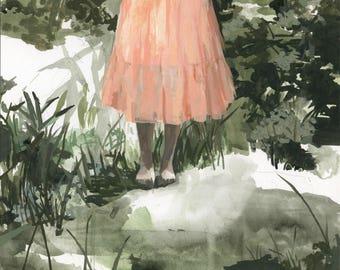 Unknown .   horizontal giclee art print