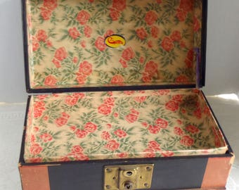 Vintage Doll Trunk with Tray Cass Toys Athol, MA