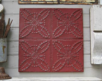 Tin Wall Decor tin wall art | etsy