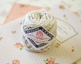 natural Cream Alibaba cotton string twine ball