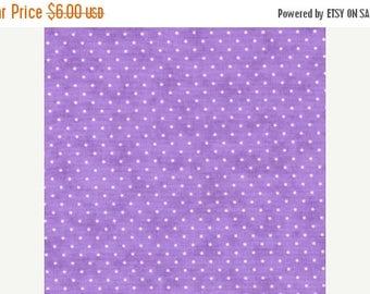 Fabric 25% off SALE Lilac purple Polka Dots 1/2 yd  Essential dots Moda sewing quilting girls modern quilt fabric blender half yard 8654-32