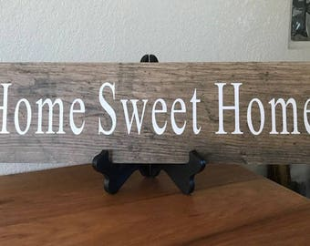 Home Sweet Home decor, Housewarming gift, Bride and Groom Gift, Wedding gift, Kitchen decor, Home sweet Home sign, New Home Gift, First home