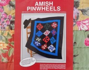 Amish Pinwheels Quilt Pattern