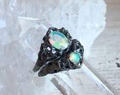 Sea Nymph Opal Ring & Sea Nymph Stacker Ring