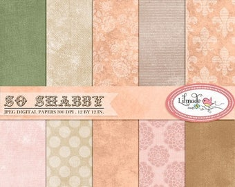 65%OFF SALE Shabby digital paper, vintage digital paper, vintage backgrounds, photo textures, commercial use, instant download, P203