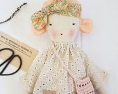 Heirloom Cloth Doll - Florette
