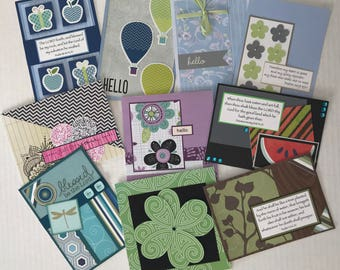10 All Occasion Cards, All Occasion Cards, Christian Cards, Greeting Cards, Handmade Cards.