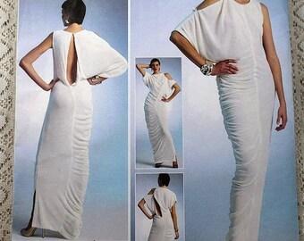 ON SALE Vogue 1305, Misses' Dress Sewing Pattern, Evening Dress Pattern, Lialia by Julia Alarcon, Misses' Size 14, 16, 18, 20, 22, Uncut