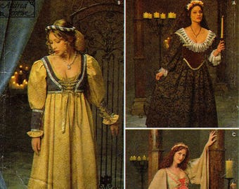Pick Your Size - Simplicity Costume Pattern 8192 - Misses' Renaissance Dresses/Costumes - Simplicity Patterns