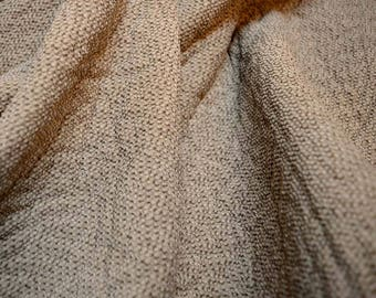 Taupe Grey Chenille Upholstery Fabric