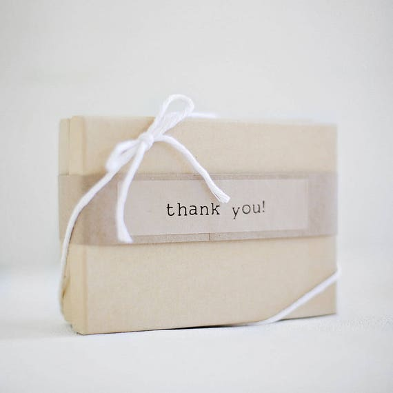 Kraft Stickers-  THANK YOU- 4 Sheets {20 sheets per label}