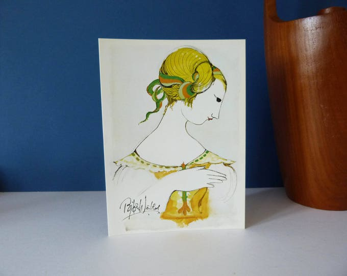Bjorn Wiinblad Large Greetings card