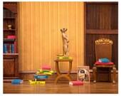 Meerkat cute animal print for bookworms: Meerkat Den