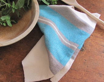 Gourmet Chef Gifts, Foodie Cooking Gift, Kitchen Hand Towel, Rustic French Country Modern Farmhouse Coastal Beach Cottage Decor Dish Towel