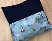 Neverland (Peter Pan) inspired Reading Cushion