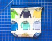 Medium Sweater Drawstring Bag