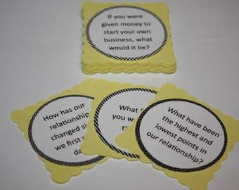 Relationship Conversation Starter Cards - Thoughtful conversations