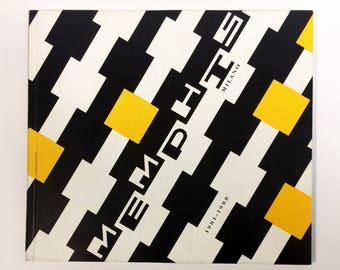 Memphis Milano 1981-1988 Exhibition Catalog - Badischer Kunstverein (1990)