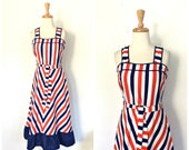 Vintage Red White and Blu...