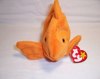 Ty Beanie Baby Goldie,Fish,Toys,Gifts,Beanie Babies,Collectibles