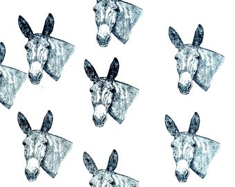 Mule Fabric All Cotton Hot Diggity Dog™ Novelty Fabric 1 yd