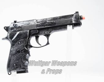 M9 Prop Pistol Replica (Punisher, Deadpool, Military, Captain America, Fallout, Mad Max)