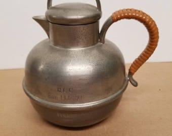 Vintage Pewter Teapot