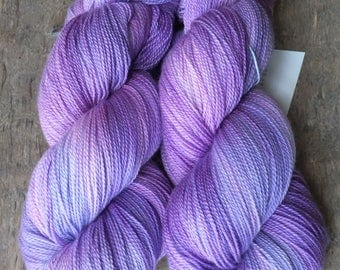 Sweet Orchid -  Hand Dyed Merino Silk Lace Yarn
