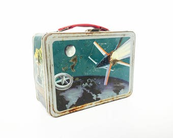 Vintage Space Lunch Box