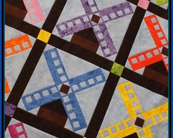 Dutch Windmill Quilt Pattern