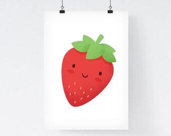 Nursery Wall Art, Nursery Prints, Kitchen Wall Art, Kitchen Poster, Foodie Gift, Xmas Gift For Her, Housewarming Present, Foodie Art Print