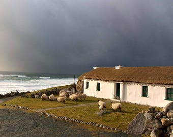 Donegal  thatch cottage